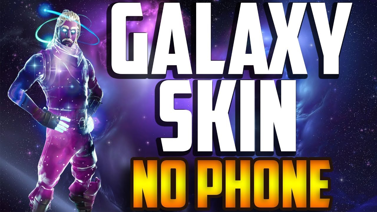 Fortnite How To Get Galaxy Skin without Phone FREE ( Emulator )