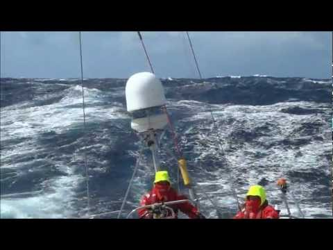 Clipper Race: Pacific Crossing and Huge Waves