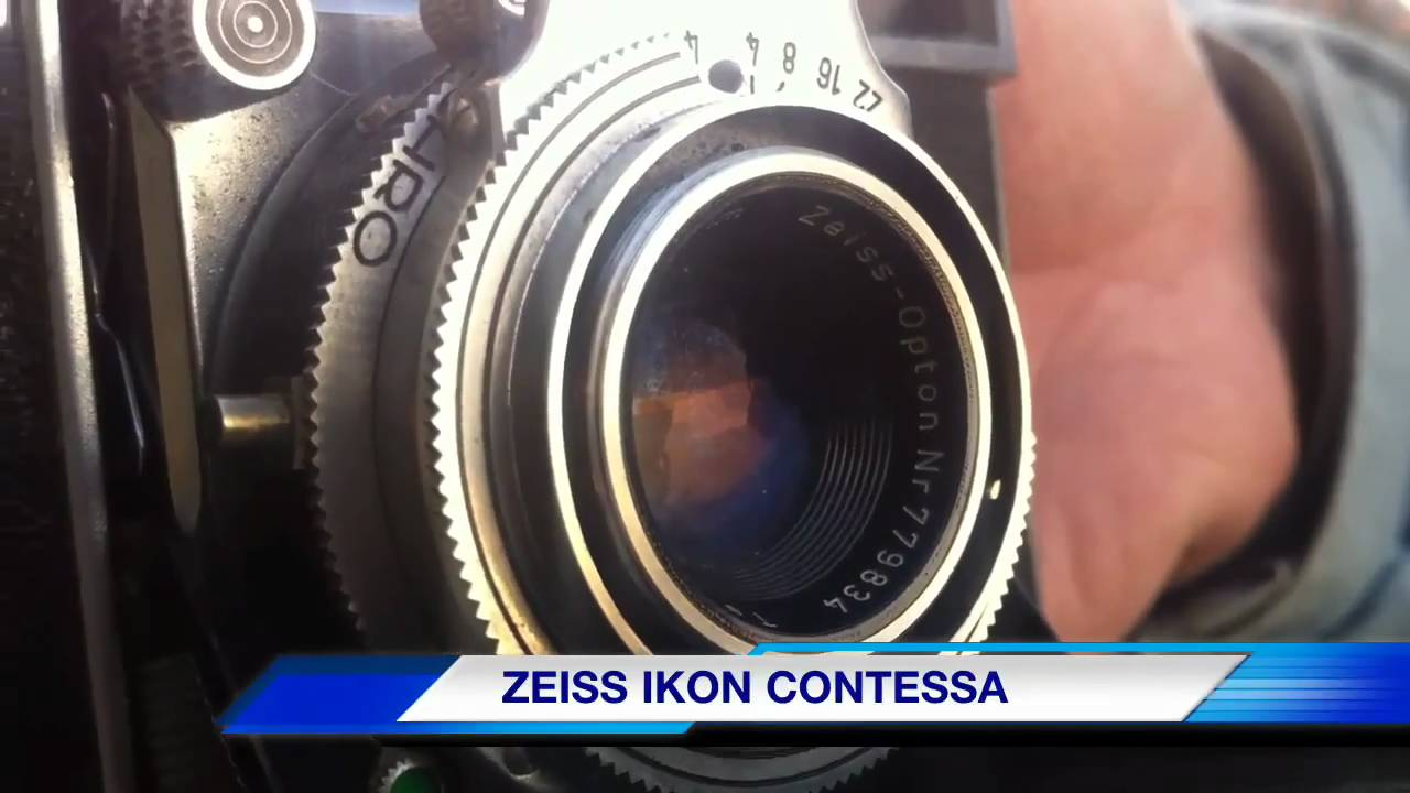 ZEISS IKON CONTESSA CAMERA