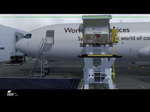 KSDF UPS cargo operations