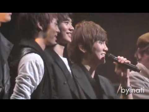 Fancam SHINee Key said I LOVE U in Japanese (AISHITERU) live in Yokohama 100424