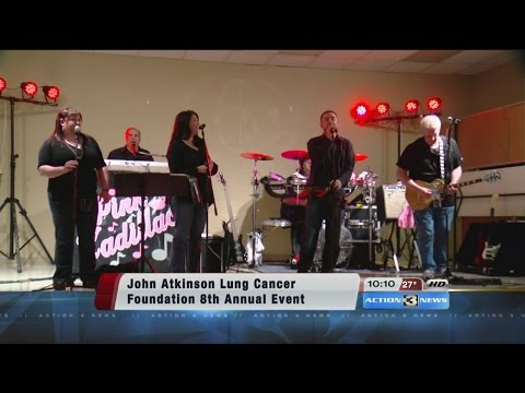John Atkinson Lung Cancer Foundation raises money for student scholarships