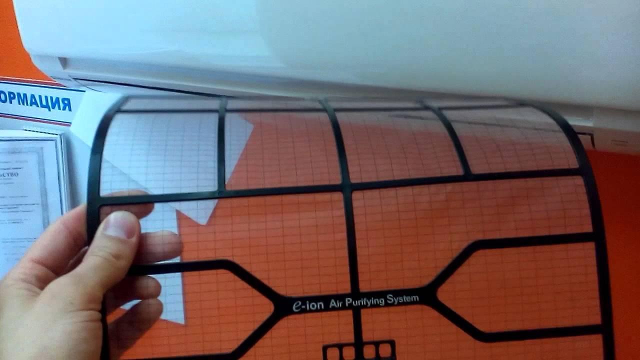 Чистка фильтров кондиционера panasonic кондиционер lg a12aw1 картина