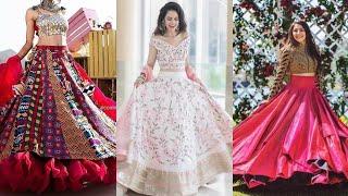 latest stylish lehenga choli designs by kushi maqbool