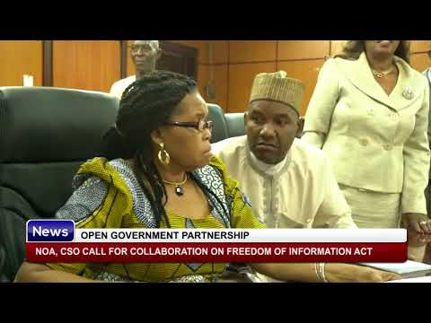 NOA, CSO Call For Collaboration on Freedom of Information Act