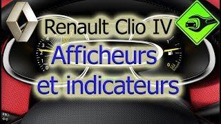 Renault Clio IV   Afficheurs et indicateurs