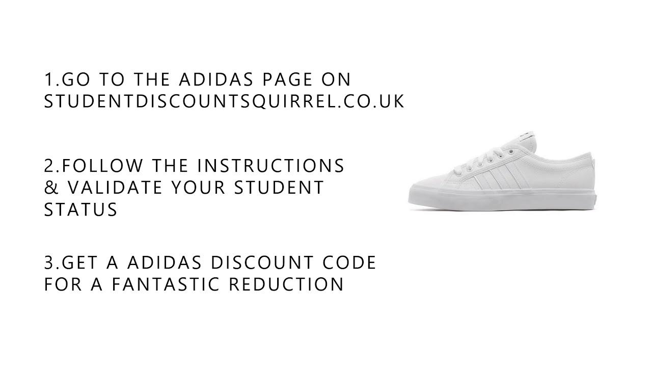 Adidas Student Discount