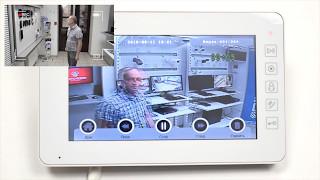 Обзор цветного видеодомофона с детектором движения PVD-7L v.7.1(, 2016-08-22T19:06:36.000Z)