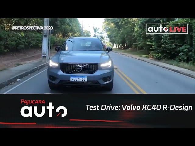 Retrospectiva 2020: Reveja o test drive do Volvo XC40 R-Design