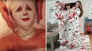 vlog-21-is-this-facial-for-real-onesie-cuteness-overload