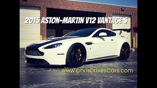 "2015 Aston-Martin V12 Vantage S - ""Chris Drives Cars"" Video Test Drive"