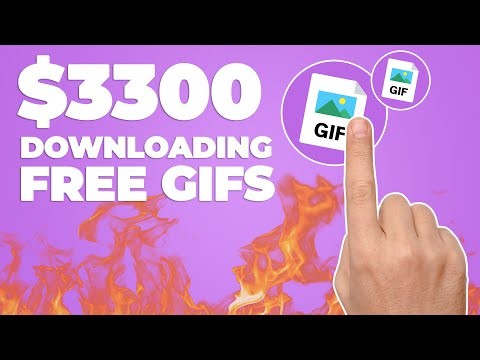 Earn $300 Per Free GIF You Download! (Make Money Online)