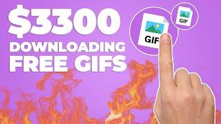 Earn $300 Per Free GIF You Download! (Make Money Online) screenshot 5