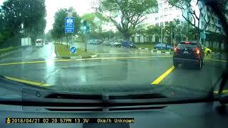 Accident at Yishun Ave 1