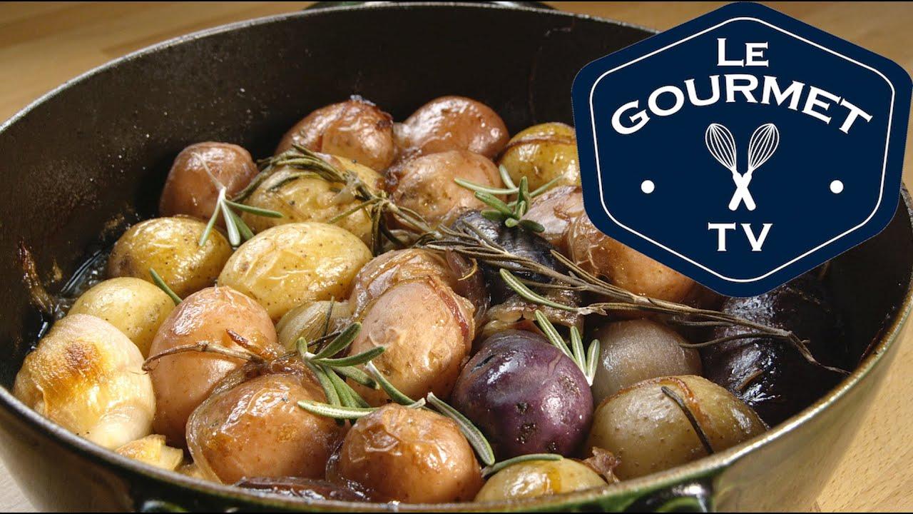 Braised Potatoes Recipe - LeGourmetTV - YouTube