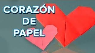 Cómo hacer un corazón de papel, origami