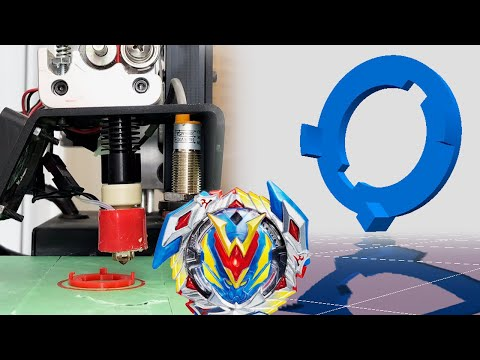 Make Your Own $200 BEYBLADE PART - 3D Printed Beyblade Burst Level Chip