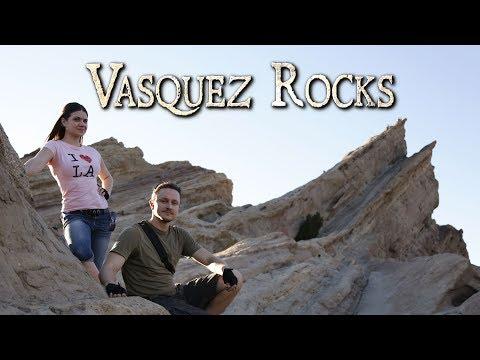 Exploring Vasquez Rocks - Oddity Odysseys