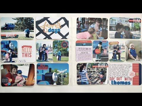 Project Life Process Video Family Album - Day Out With Thomas