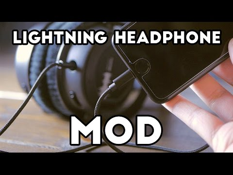 DIY Lightning Headphones For iPhone 7?