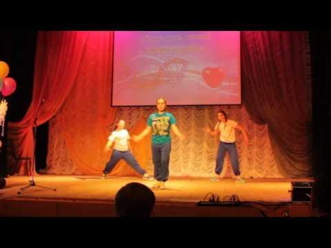 Заволжск. Анастасия танцует в ДК Кинешмы