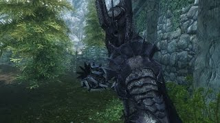 Repeat youtube video Skyrim: Lord Of the Rings Mods ,Lotr Sarumans Tower Orthanc , Gandalf , Sauron