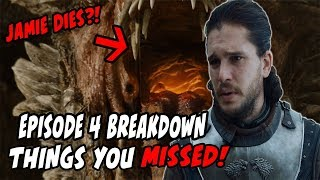 Things You MAY Have Missed?! Game Of Thrones Season 7 Episode 4 BREAKDOWN!!