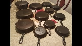 How to Identify Unmarked Cast Iron & Reference Sources!