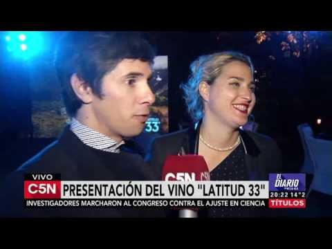 C5N - El Diario: Presentacion Vino