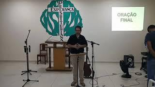 CULTO DE ORAÇÃO - JOÃO 4:34 (01/10/2020)