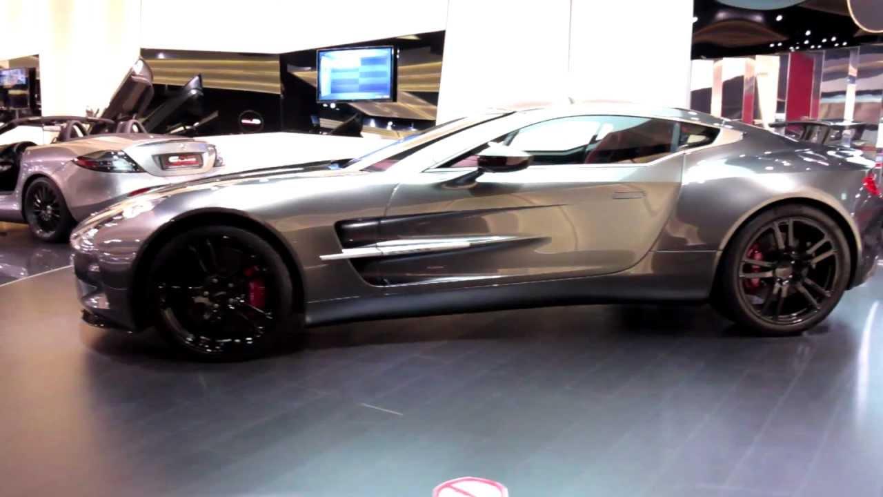 World Premiere: Aston Martin One-77 Q-Series by Aston Martin - 1of 7 ...