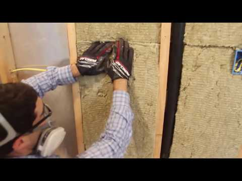 How to Insulate Walls with Rockwool -- by Home Repair Tutor