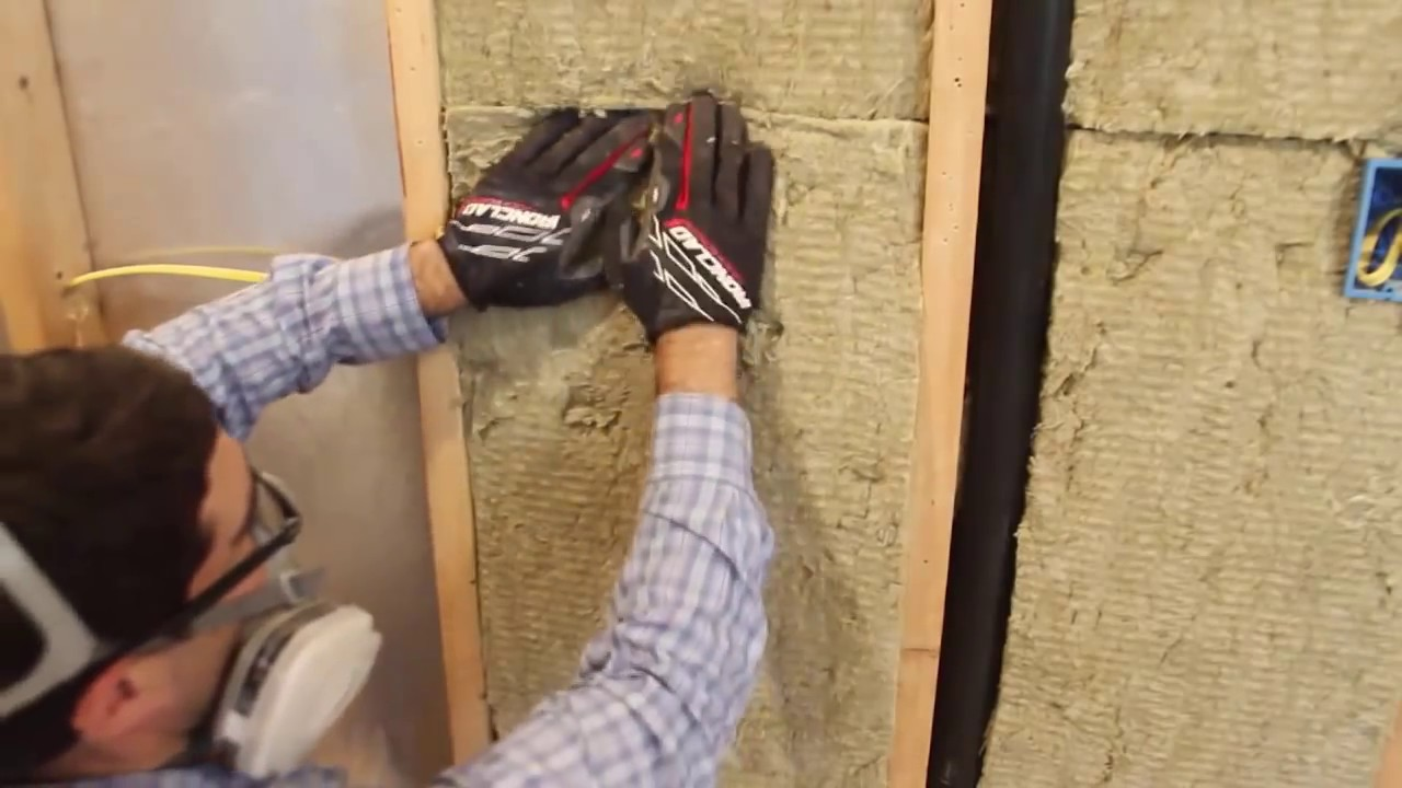 How To Insulate Walls With Rockwool By Home Repair