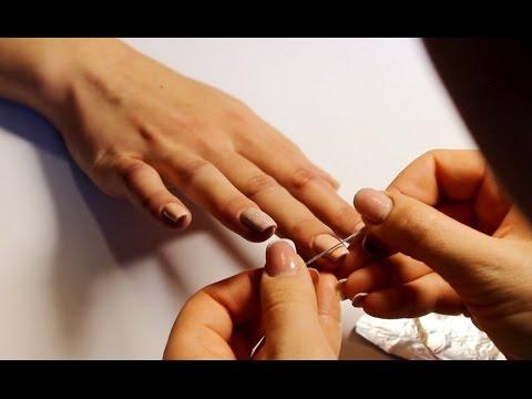 Укрепление ногтей и весенний дизайн!