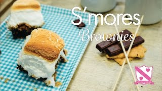 S'mores Brownies - In The Kitchen With Kate