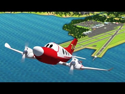 Videos for kids - The Airport Diary -  Winky's new home (cartoon 2)
