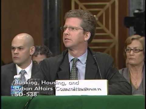 Sen. Toomey questions Secretary Donovan at Senate Banking, Housing and Urban Affairs Committee