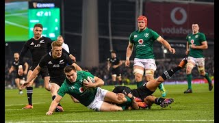 Rugby: Ireland v New Zealand 2018 - Second Half