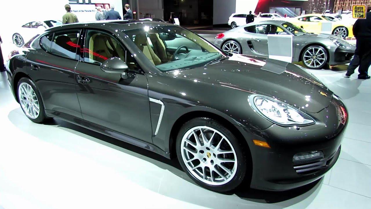 2013 Porsche Panamera 4 Platinum Edition Exterior and Interior