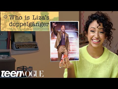 Liza Koshy Guesses How 2,074 Fans Responded to a Survey About Her | Teen Vogue