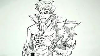 Cara Menggambar Alucard Skin Fiery Inferno How To Draw A