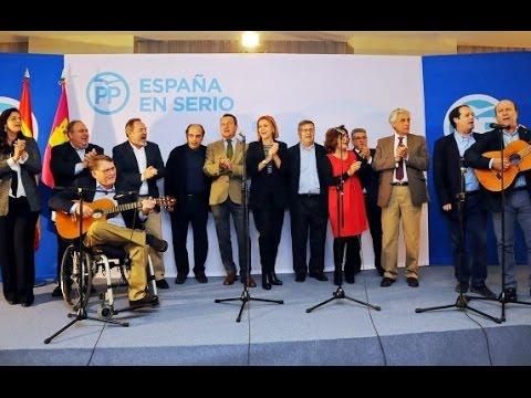 Dirigentes PP de Toledo y Cospedal cantan