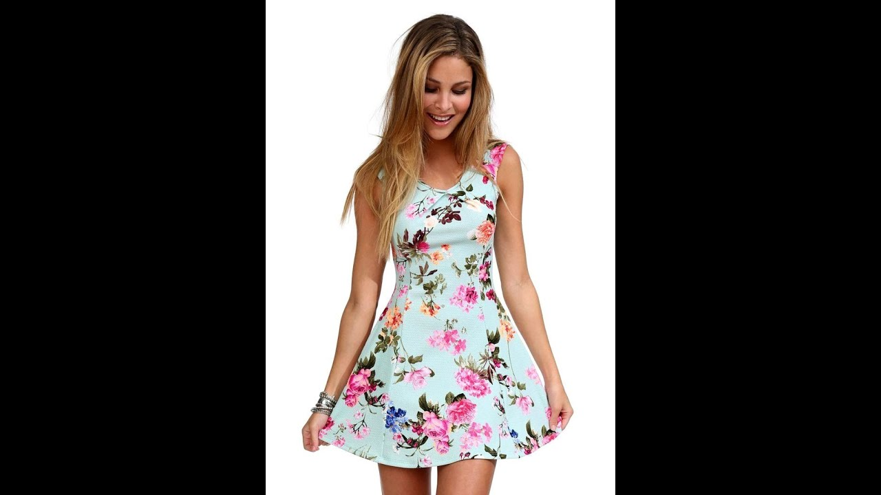 Короткие легкие платья на лето
