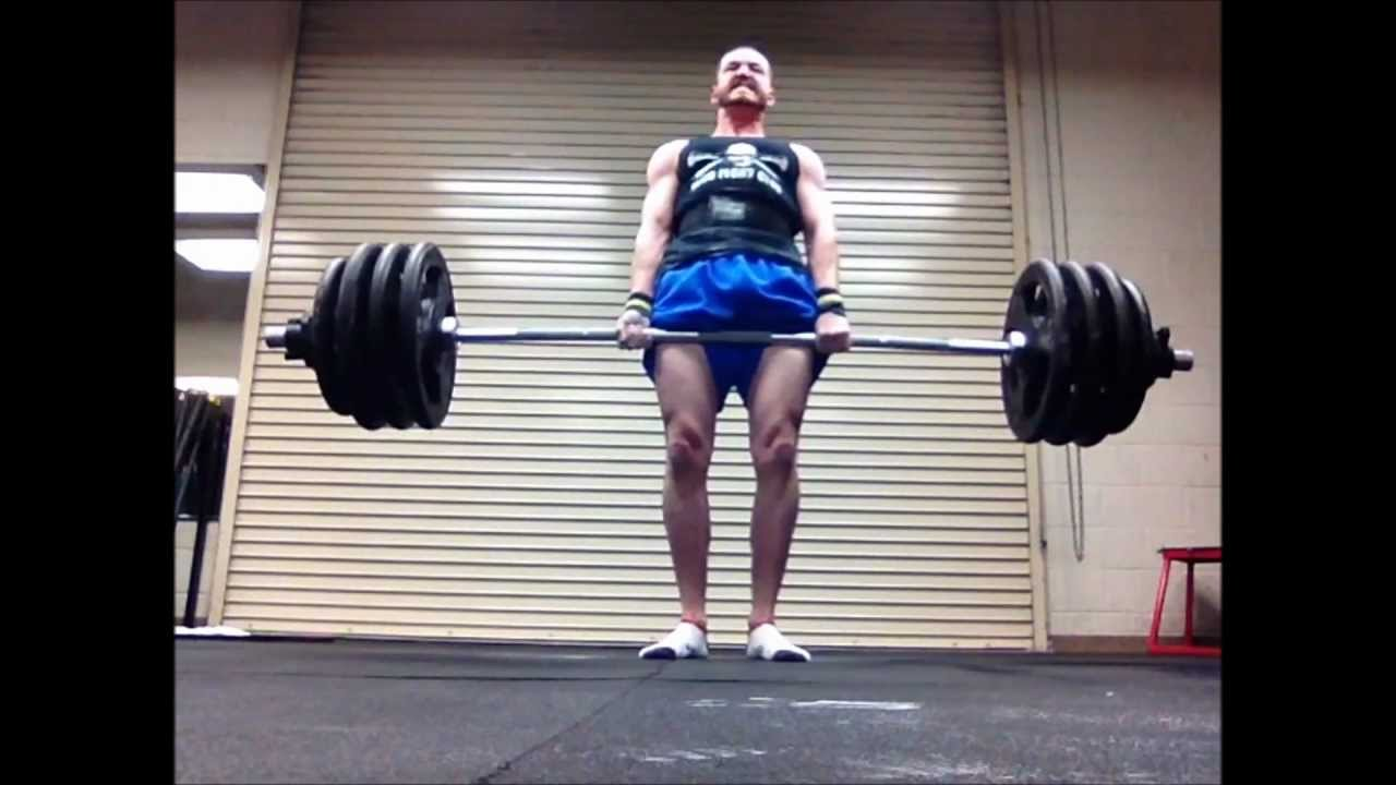 Deadlift Results -- Review of Wendler 5/3/1 Boring But Big 3-Month  Challenge (6 MAR 2013)