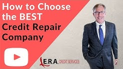 How to Choose the Best Credit Repair Company