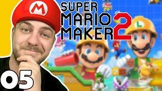 W pogoni za grzybkiem #5 Super Mario Maker 2 | Nintendo Switch | PL | Gameplay | Zagrajmy w
