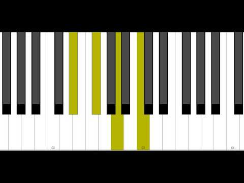 Eb Dim7 Piano Chord Youtube