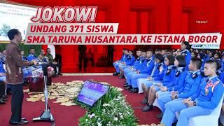 Jokowi Undang 371 Siswa SMA Taruna Nusantara ke Istana Bogor
