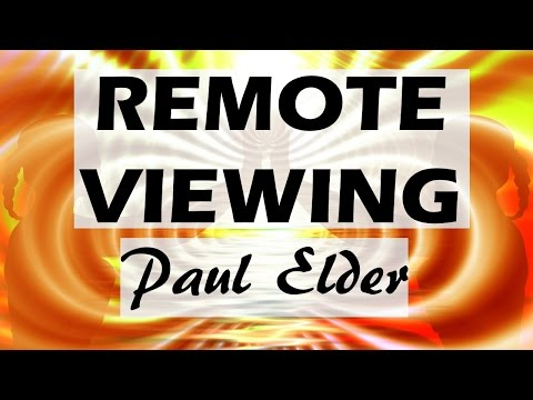 Remote Viewing Interview with Monroe Institute's Paul Elder