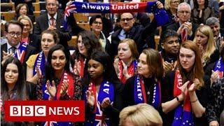 European Parliament approves Brexit agreement - BBC News